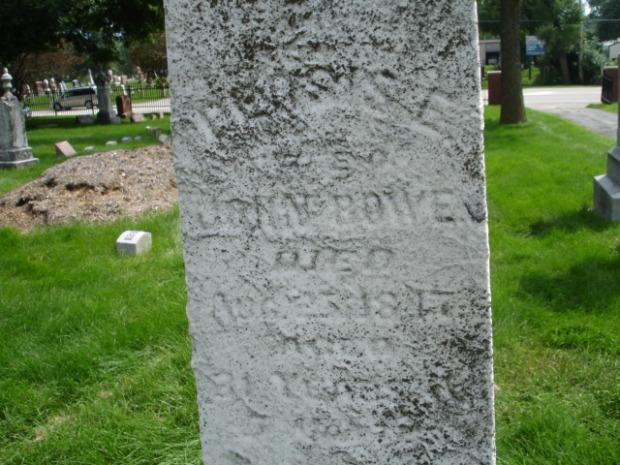 Allen, Persis stone